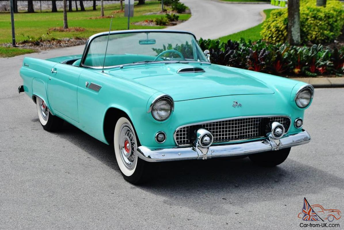 breath taken frame off 1955 ford thunderbird convertible best you will find mint. Black Bedroom Furniture Sets. Home Design Ideas