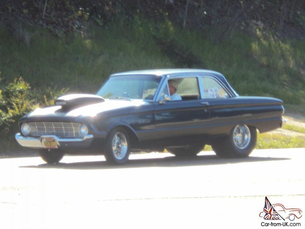 1960 ford falcon pro street gasser hot rod rat rod