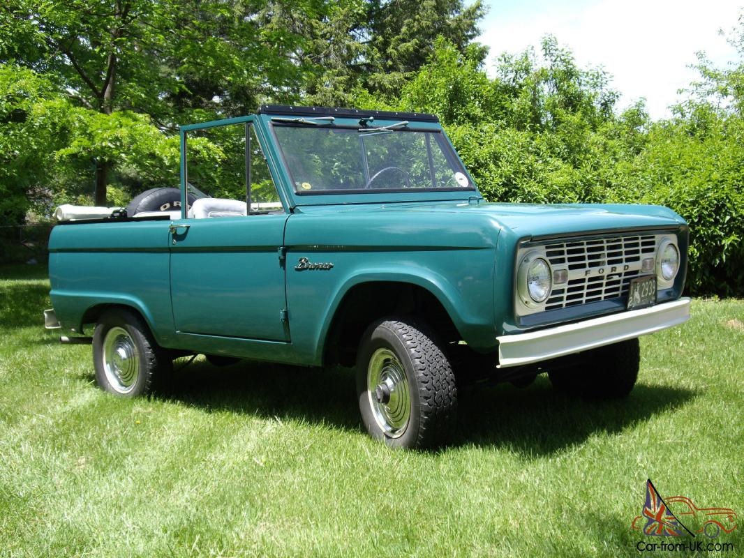 1966 ford bronco for sale ebay. Black Bedroom Furniture Sets. Home Design Ideas