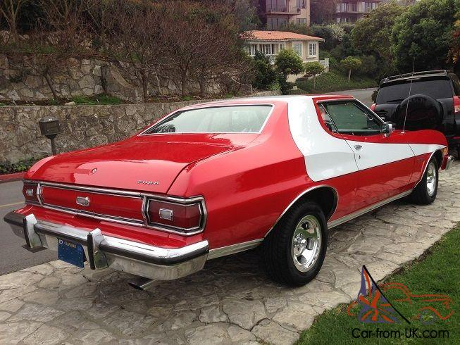 1974 ford gran torino starsky hutch new restoration way better than a mustang. Black Bedroom Furniture Sets. Home Design Ideas