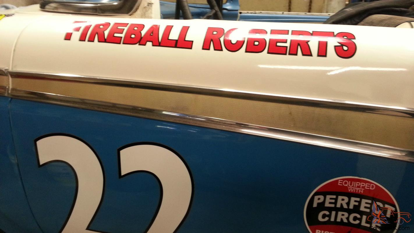 1957 Ford Fairlane NASCAR tribute to Fireball Roberts