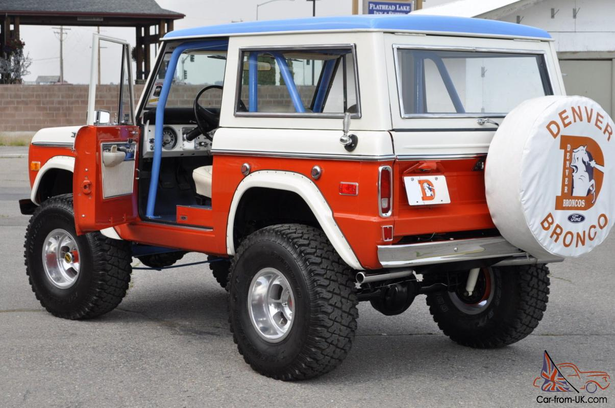 1975 ford bronco denver special