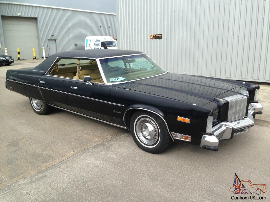 1978 Chrysler New Yorker 440 Ci Georgeous Car Easy Project Pimp My Ride Photo