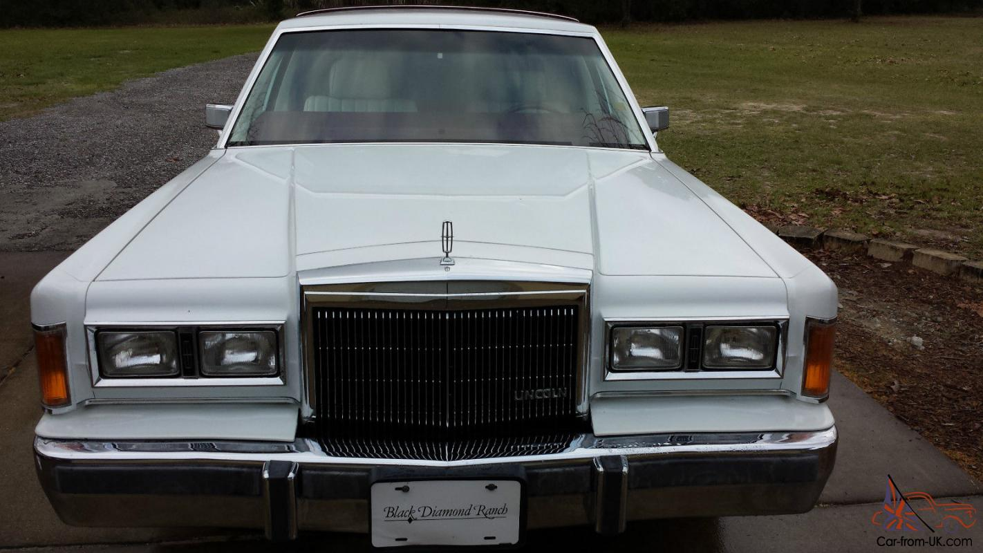 1989 Lincoln Town Car Stretch Limo One Owner 43k