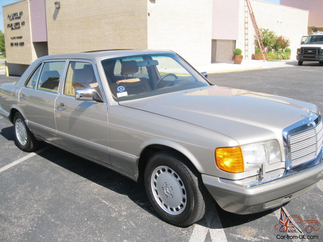 1987 mercedes 500 series 420 sel w126 for 1987 mercedes benz 420sel
