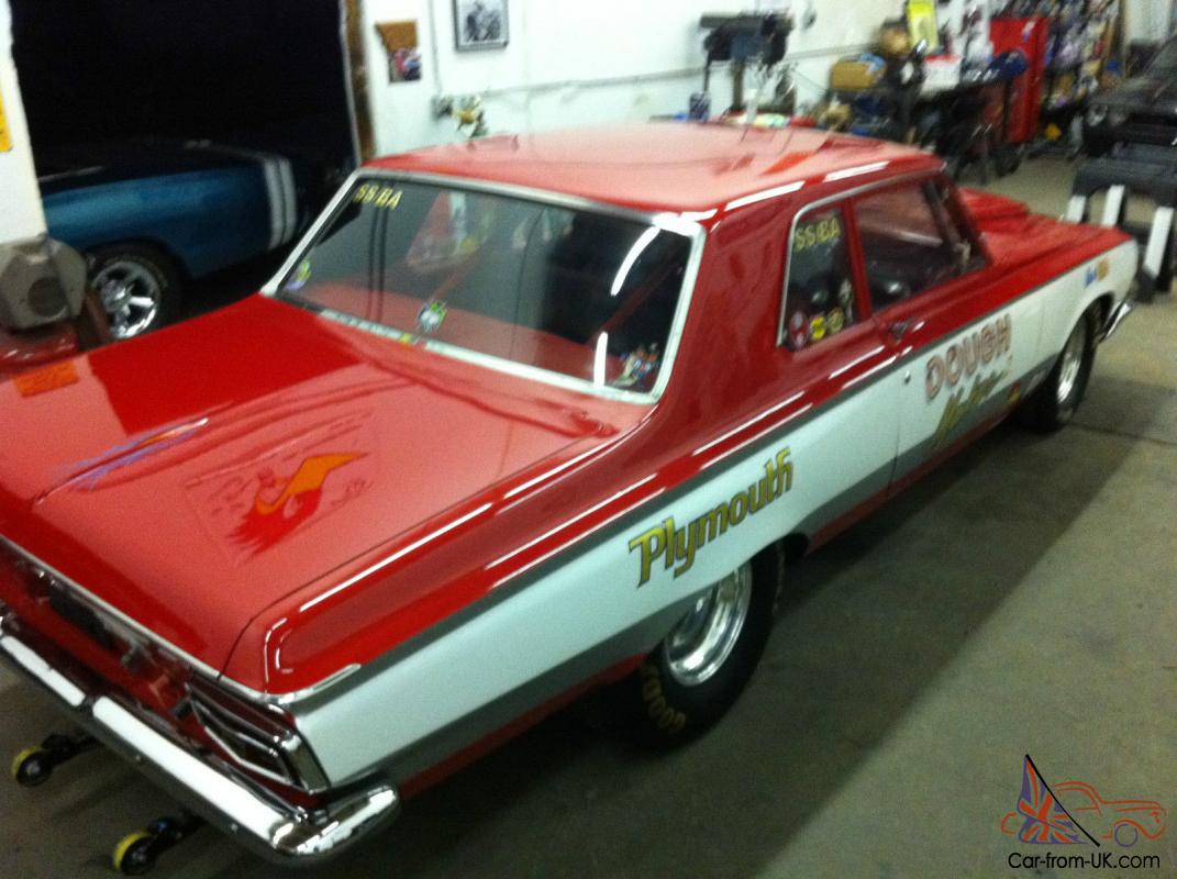 1964 Plymouth Savoy Base 7.0L Super Stock Drag Car With Aluminum ...