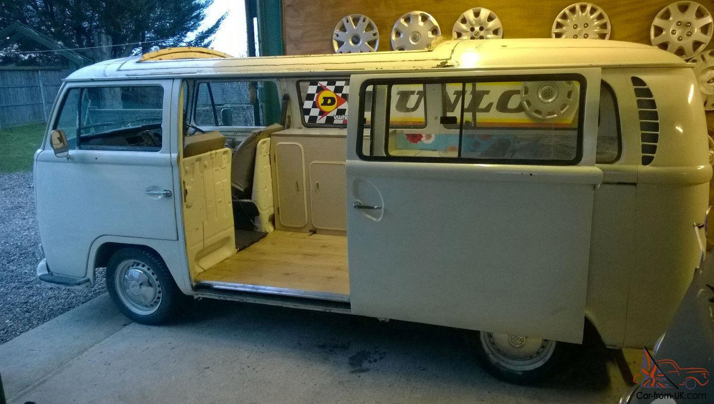 Vw T2 Early Bay Window Rhd Dormobile Campervan Camper Tax