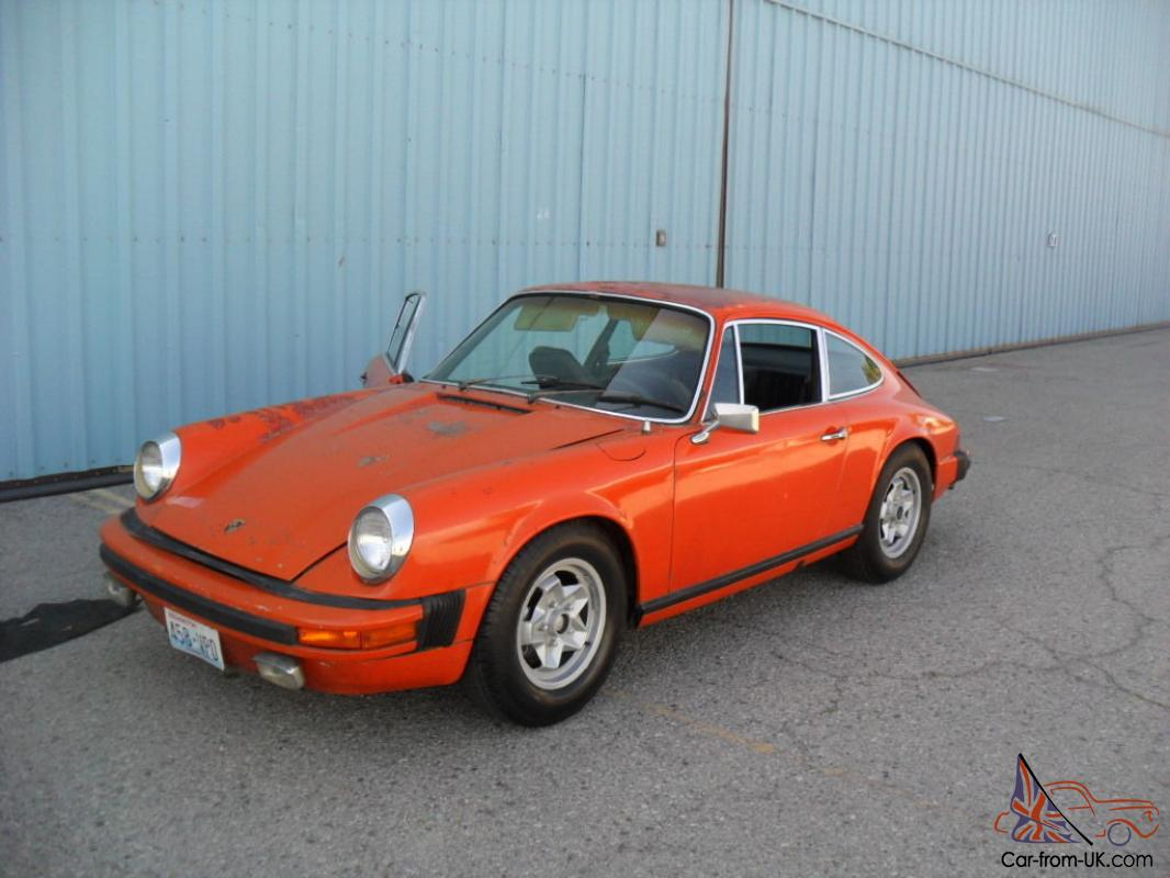 1974 Porsche 911 S Coupe 2 Door 2 7l Sportomatic