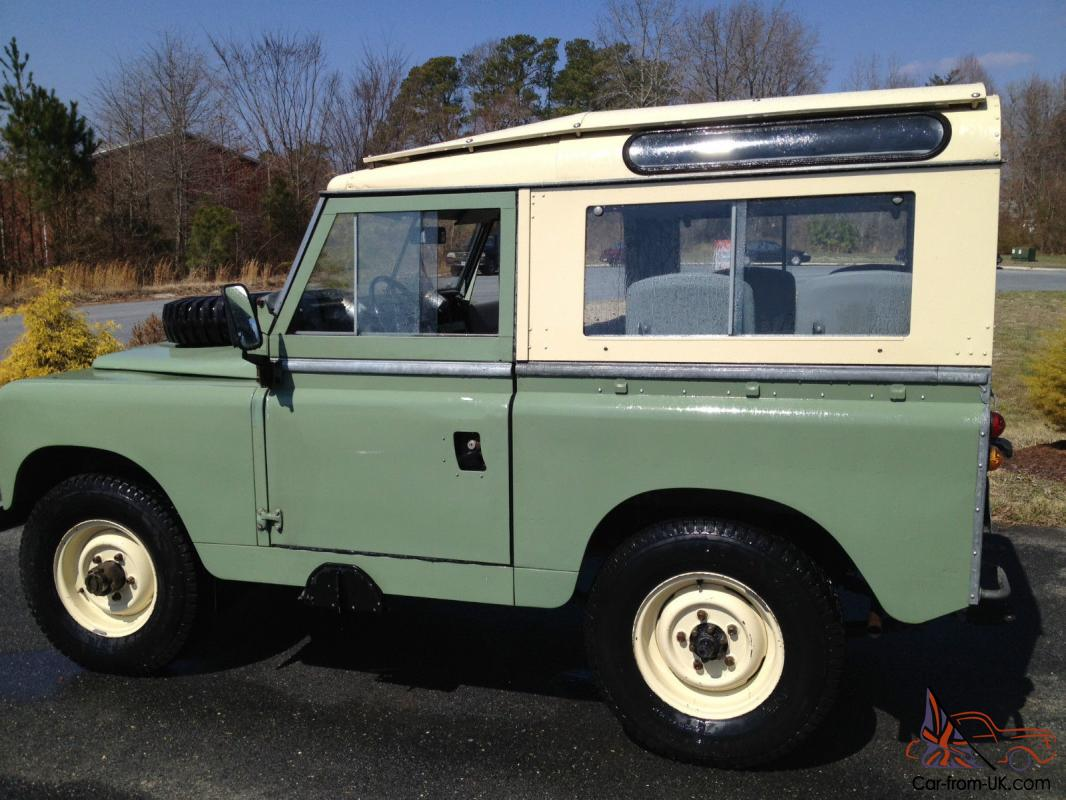 restored rare 1961 land rover series ii 88 station wagon. Black Bedroom Furniture Sets. Home Design Ideas