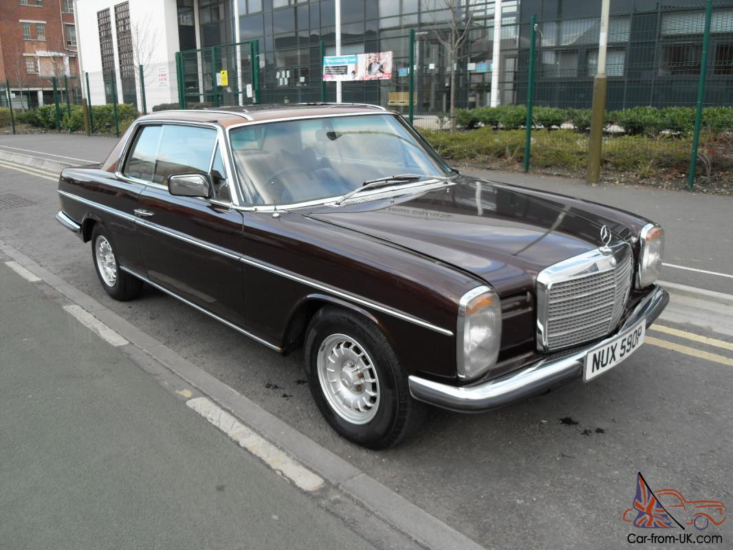 Mercedes 280 ce pillarless coupe 1976 excellent condition for Mercedes benz c123 for sale