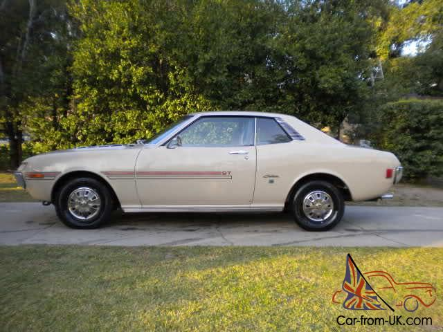 Hatchback For Sale >> 1972 Toyota Celica ST with AC