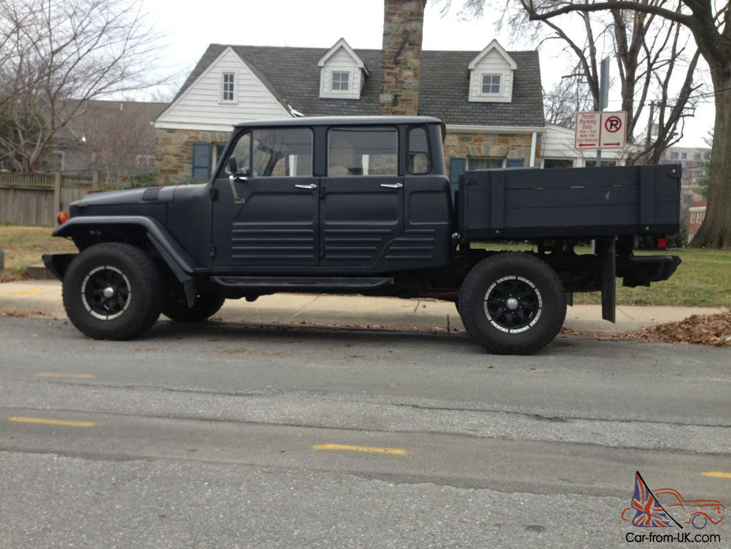 Custom 67 Land Cruiser Troop Carrier Body On 06 Tacoma