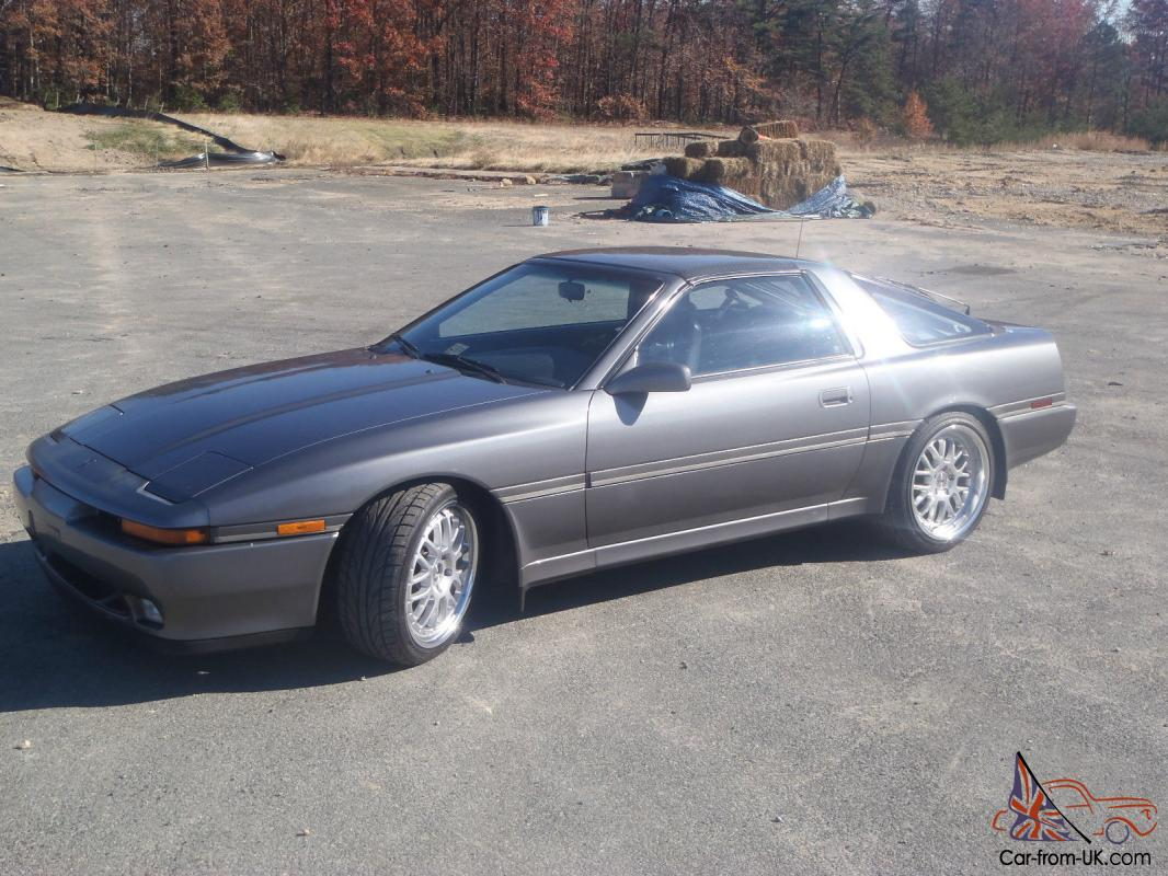 MKIII Toyota Supra / 1JZ Twin Turbo / 92 Shadow Gray black Leather ...