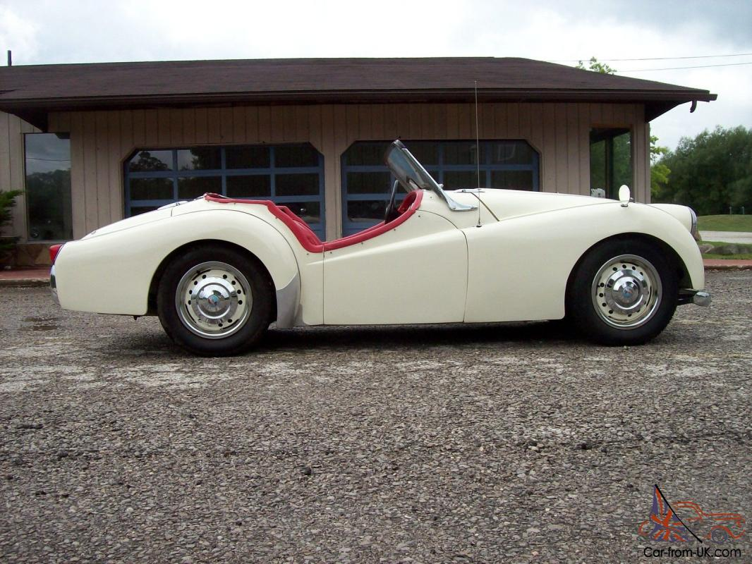 1954 triumph tr2 long door overdrive very good condition
