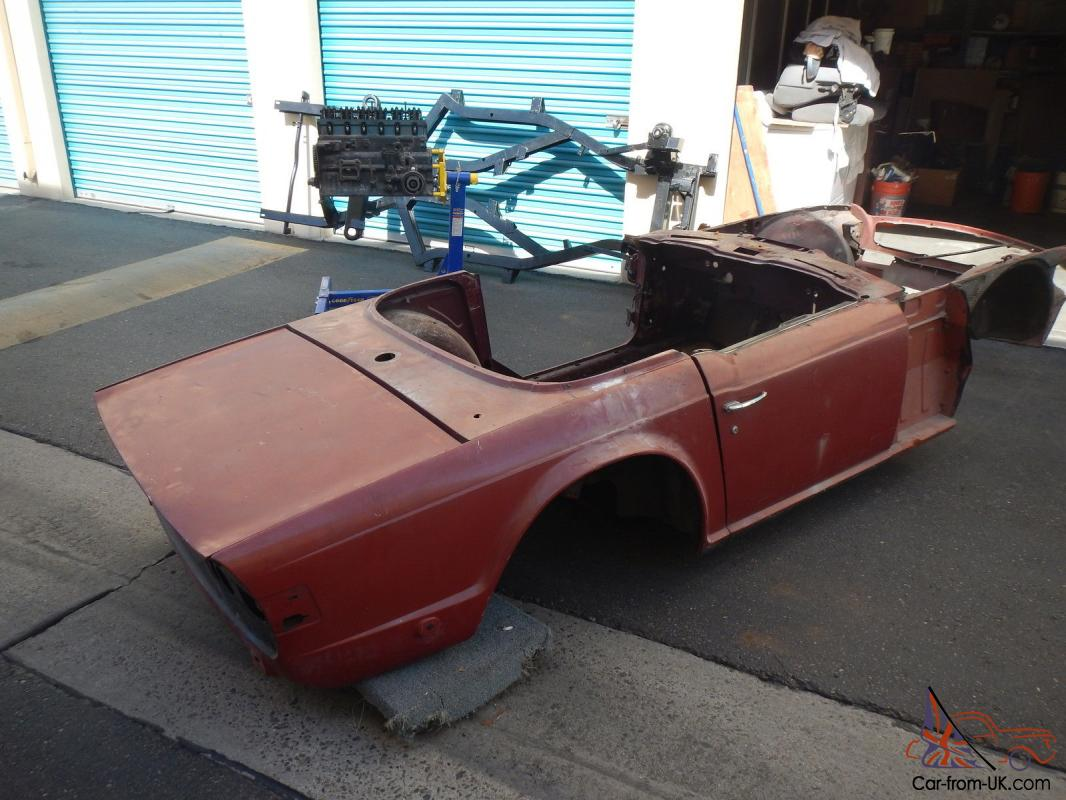 triumph tr6 1972 renovation project