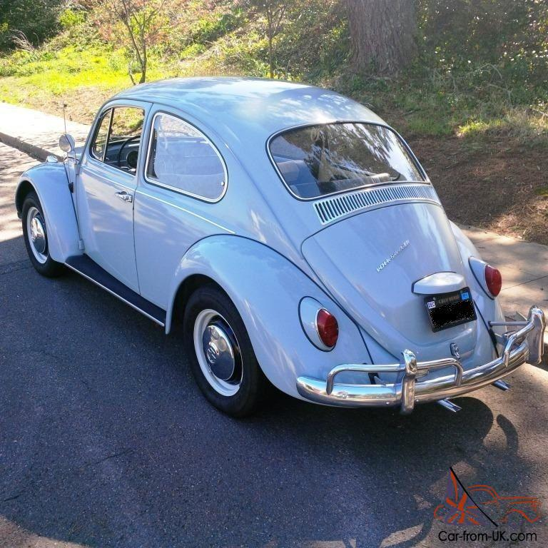 1967 Vw Beetle Show Car For Sale Oldbug Com: 1967 Volkswagen Beetle Clean Original