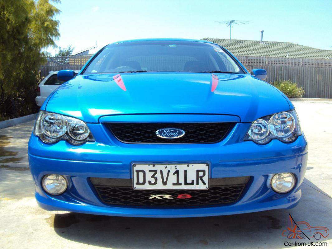 2005 Ford Falcon XR8 Devilr Marcos Ambrose Limited Edition