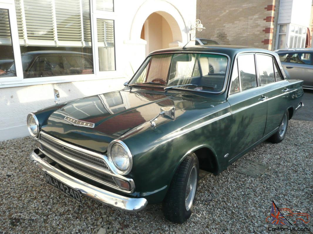 Ford Cortina Mk 1 Goodwood Green Lotus Steels
