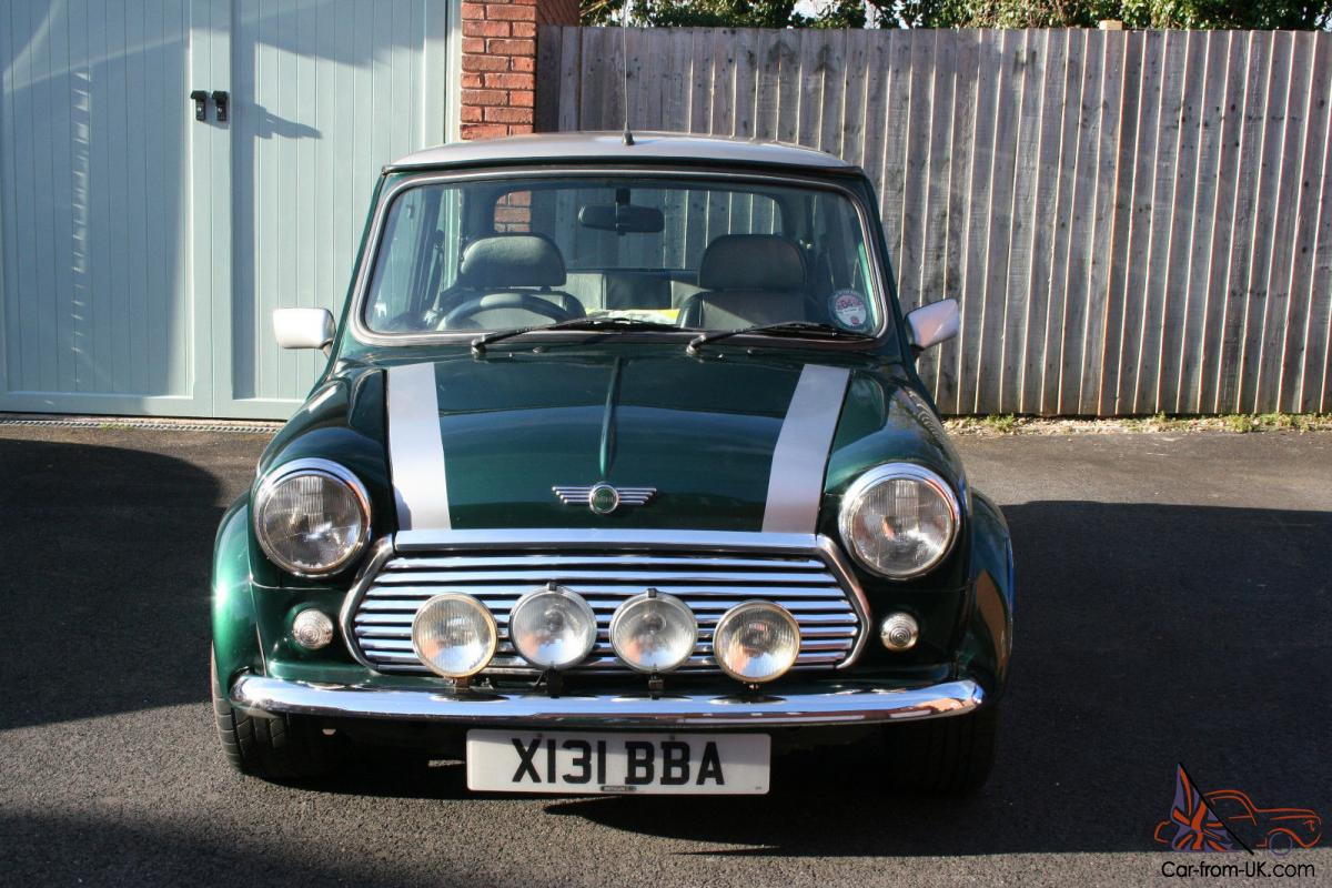 2000 Rover Mini Cooper Sport 1 3i British Racing Green