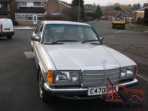 Mercedes benz 230e auto 1985 for Mercedes benz 230e