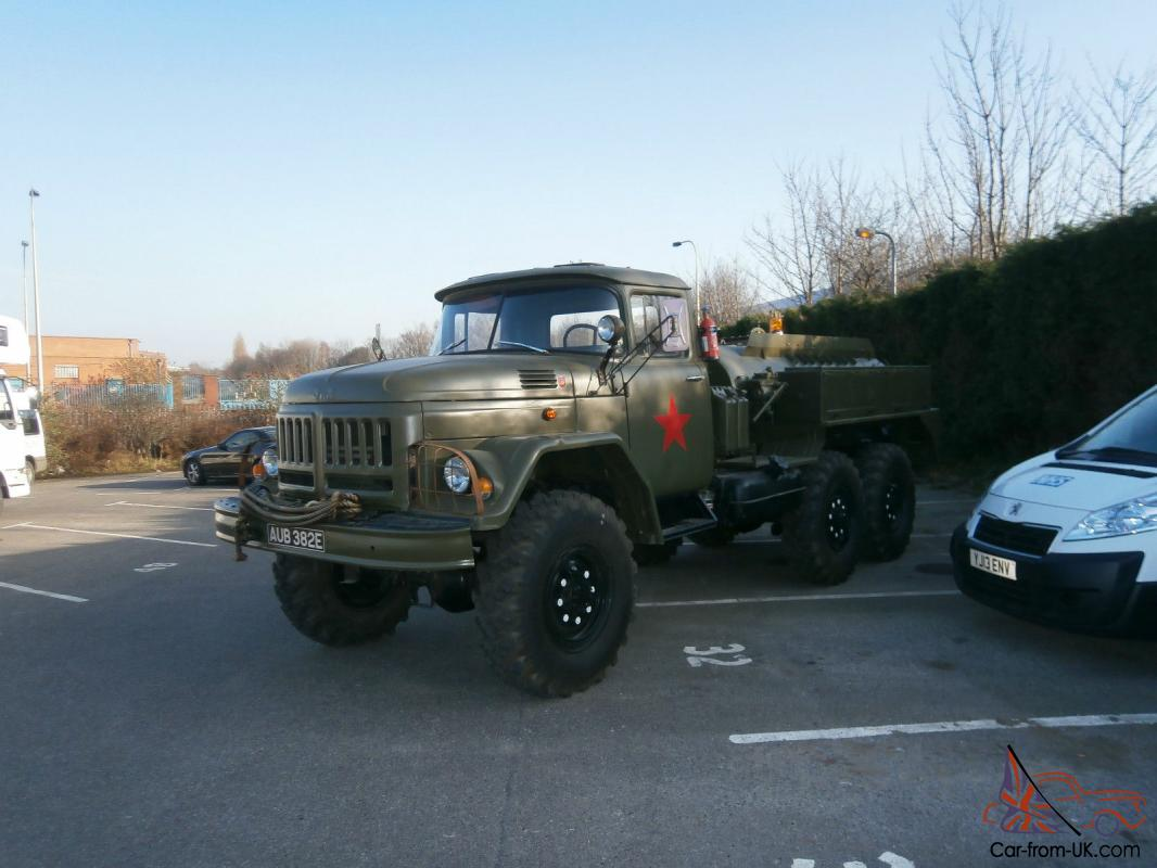 ZIL 131 6x6 RUSSIAN MILITARY TANKER .OFF ROAD TRUCK 47 yr OLD. VGC