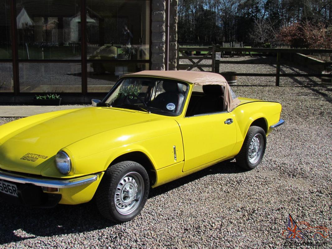 1977 triumph spitfire 1500 sports convertible. Black Bedroom Furniture Sets. Home Design Ideas