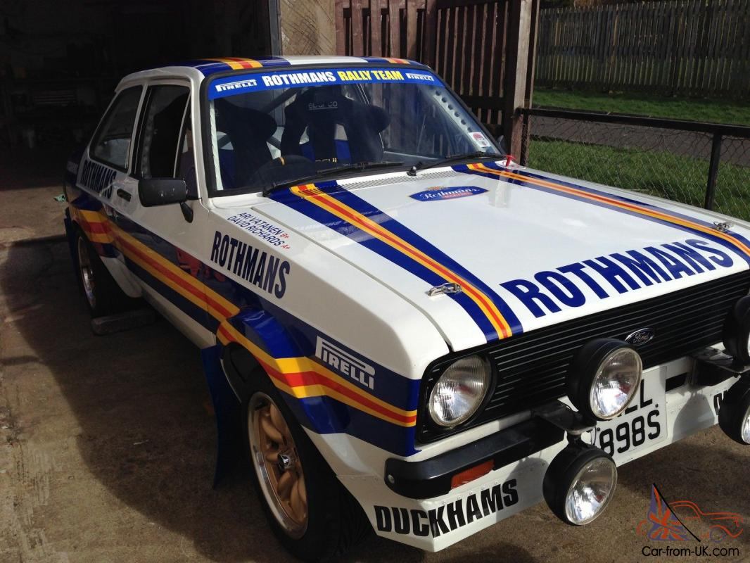Escort Rally Car