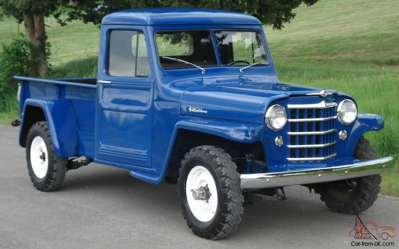 1951 Willys Jeep Pickup