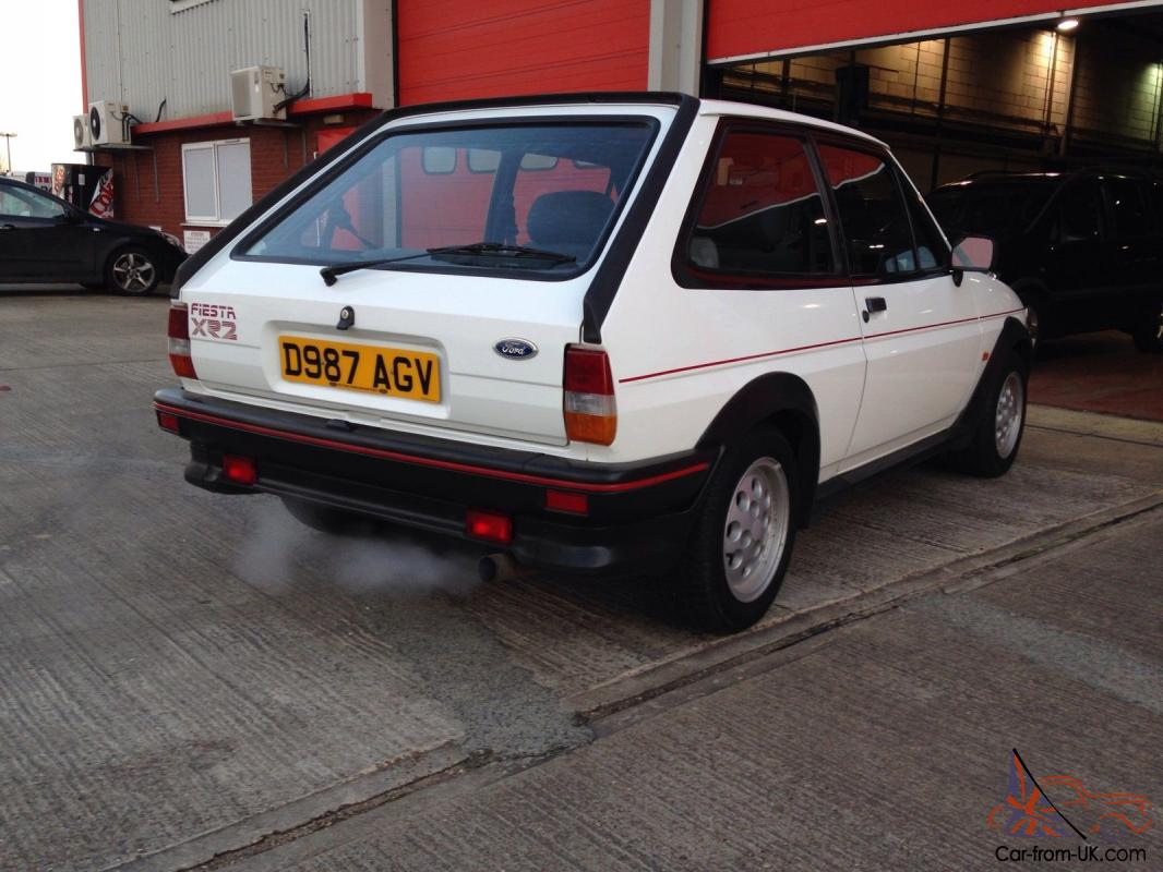 Mk2 ford fiesta xr2 original bill of sale never welded