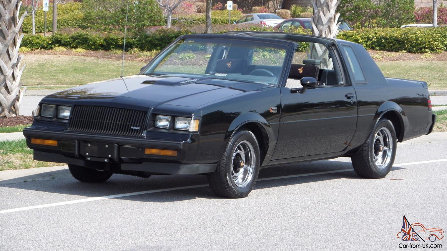 1987 buick grand national original one owner documented 82k miles with t tops. Black Bedroom Furniture Sets. Home Design Ideas