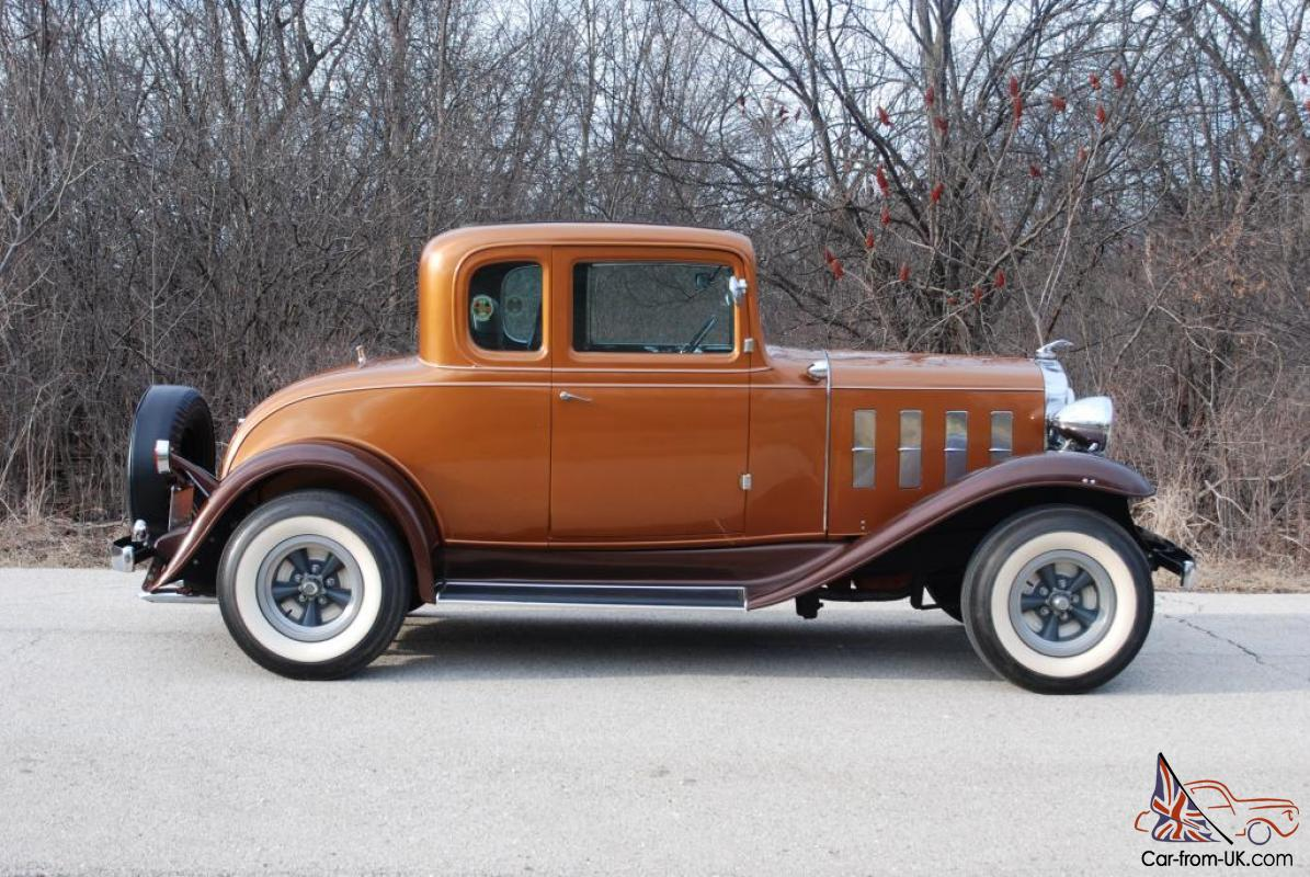 1932 chevrolet 5 window coupe vintage hot rod a lot of