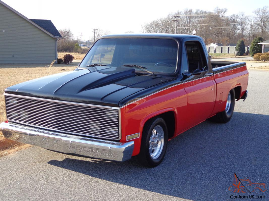 1984 c10 chevy pick up pro street tubbed. Black Bedroom Furniture Sets. Home Design Ideas
