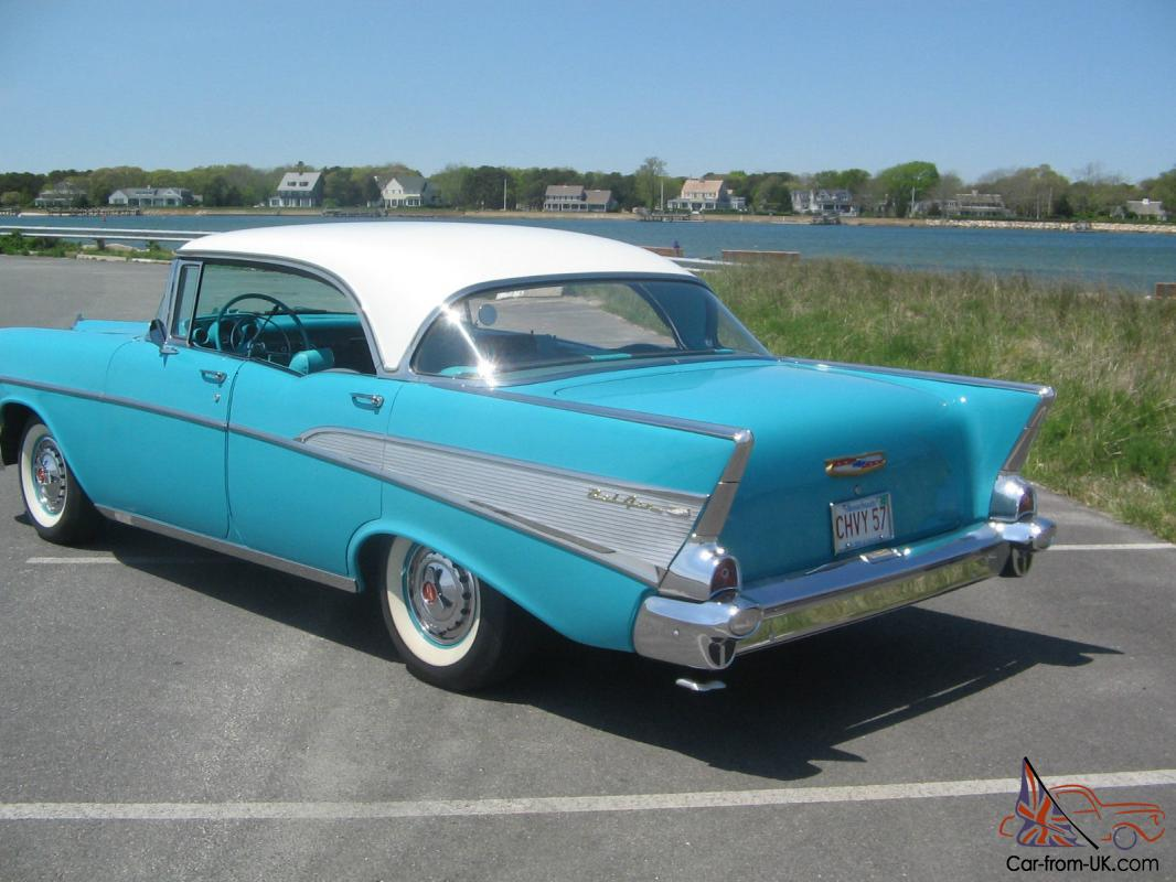 1957 chevrolet bel air 4 door sport hardtop
