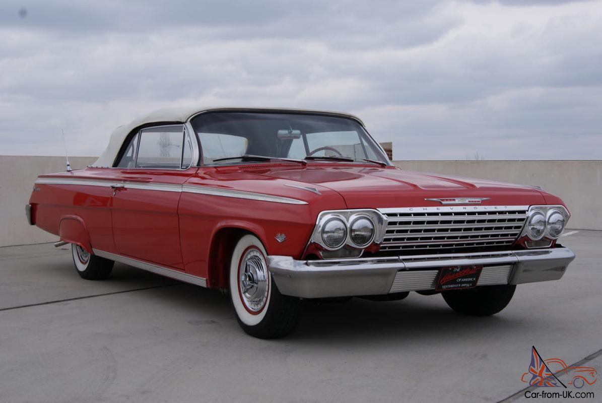 1962 Chevy Impala Convertible Frame Off Restoration Show Winner Stopper Nr