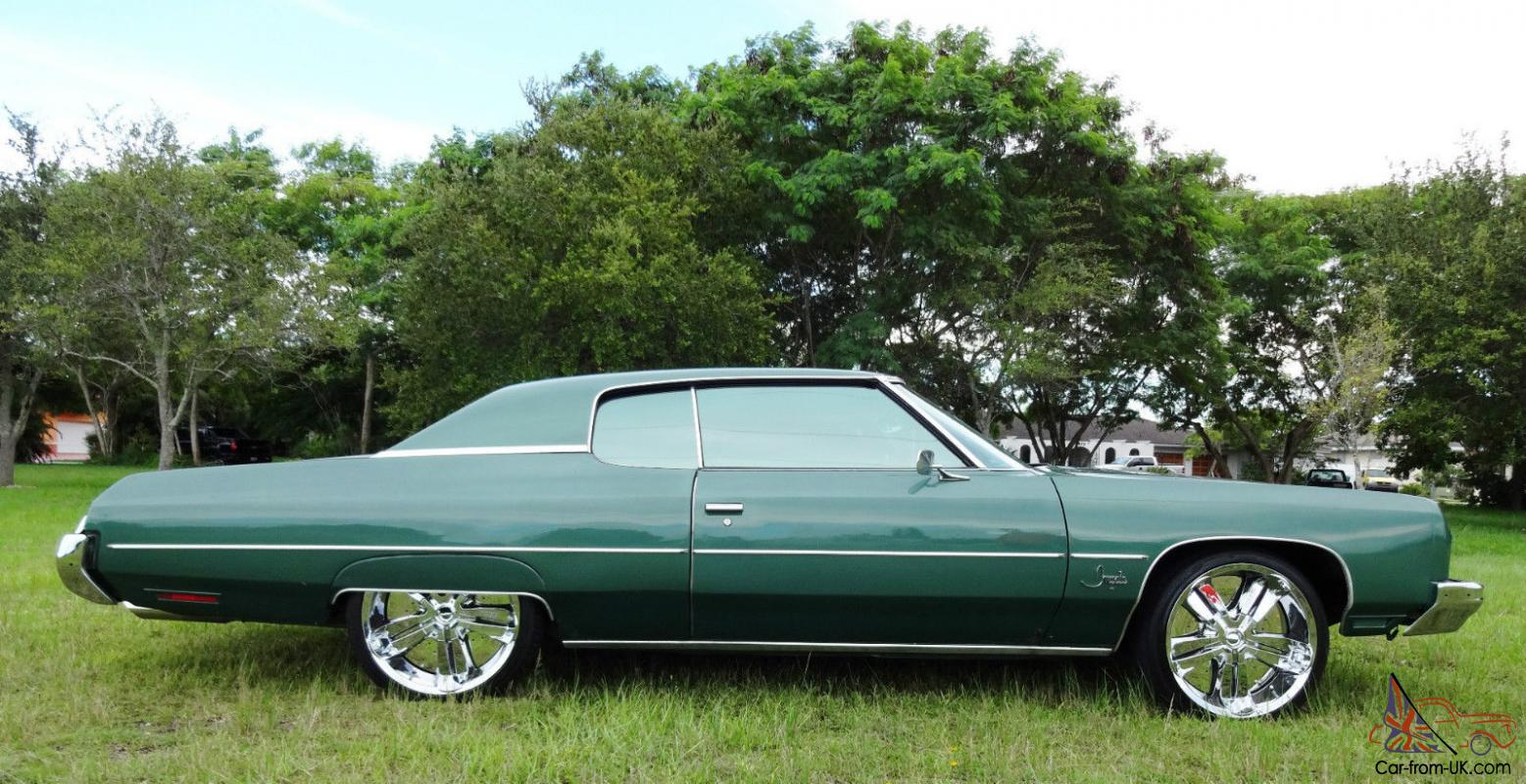 1973 chevrolet impala caprice dunk donk custom 22 chrome