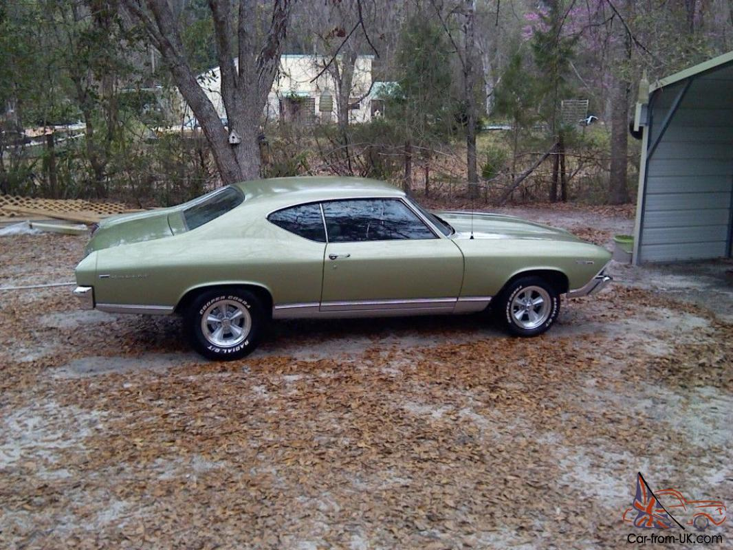 1969 Chevy Chevelle Malibu Green With 383 Stroker Rox 1000 Since Build