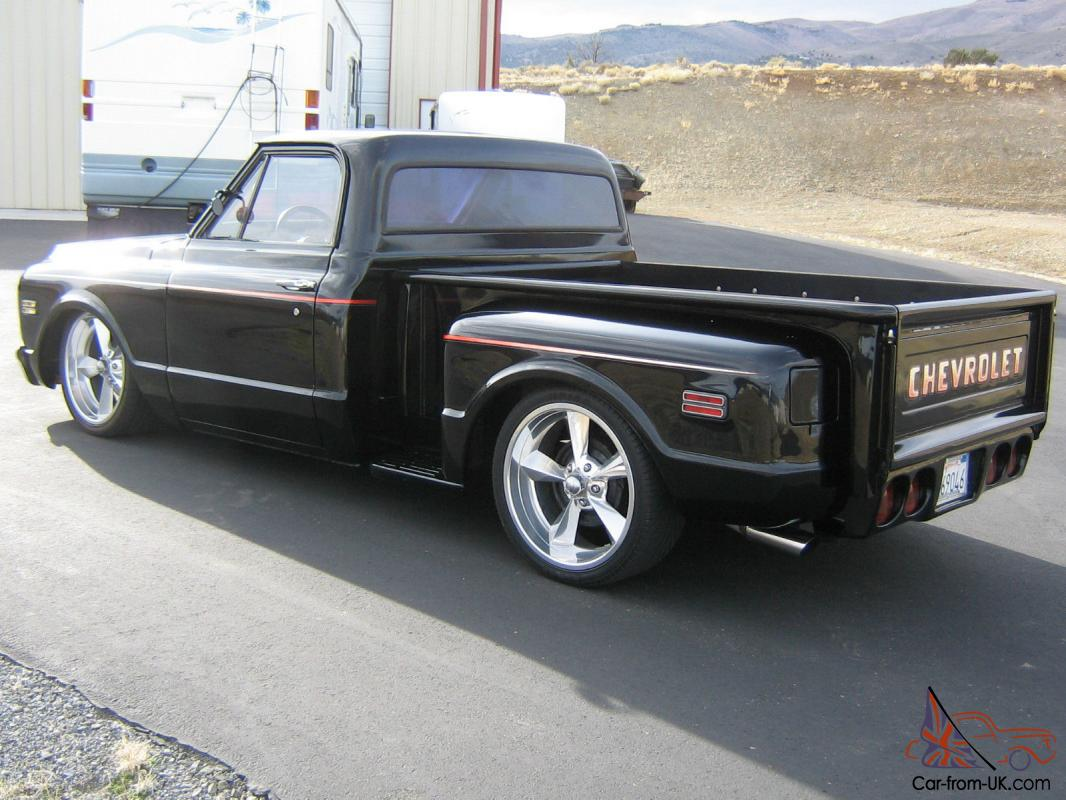 Chevy C10 Pickup For Sale You are bidding on a 1972 Chevy stepside pickup. 350 engine. H350 ...