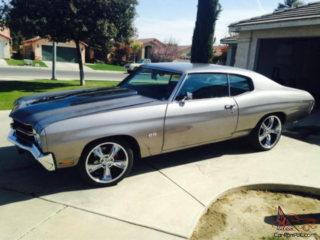 1970 chevy chevelle 454 ss tribute resto mod hotrod muscle car. Black Bedroom Furniture Sets. Home Design Ideas