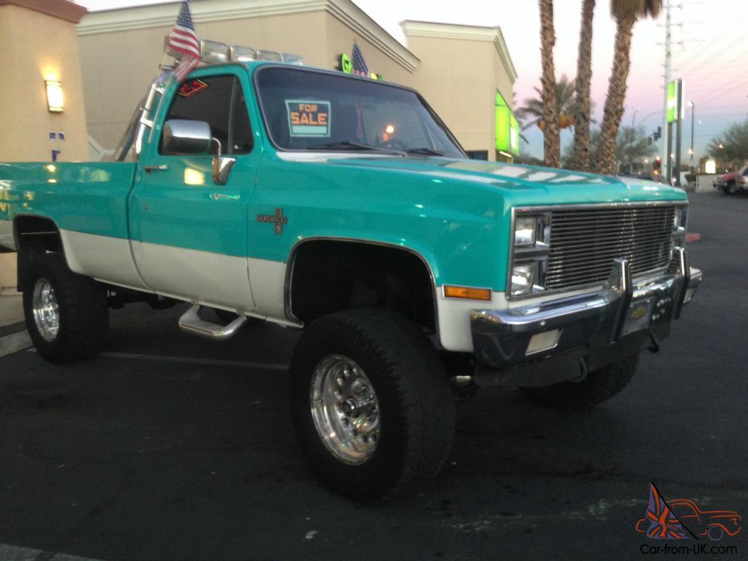 K20 K 20 Chevy Pickup Square Body 34 Ton Truck Scottsdale. 1987 ...