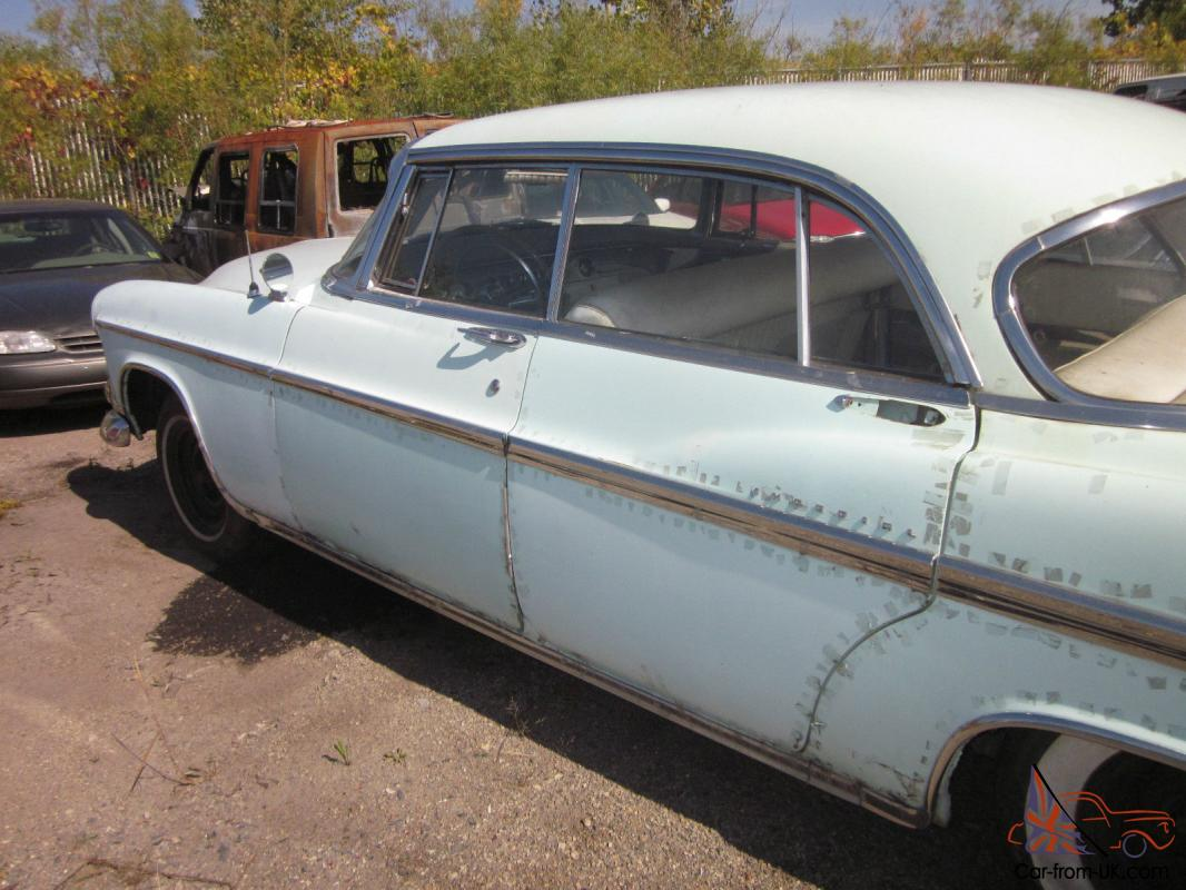 1956 Chrysler Imperial 4 Door Sedan. Project Car. Parts Car ...