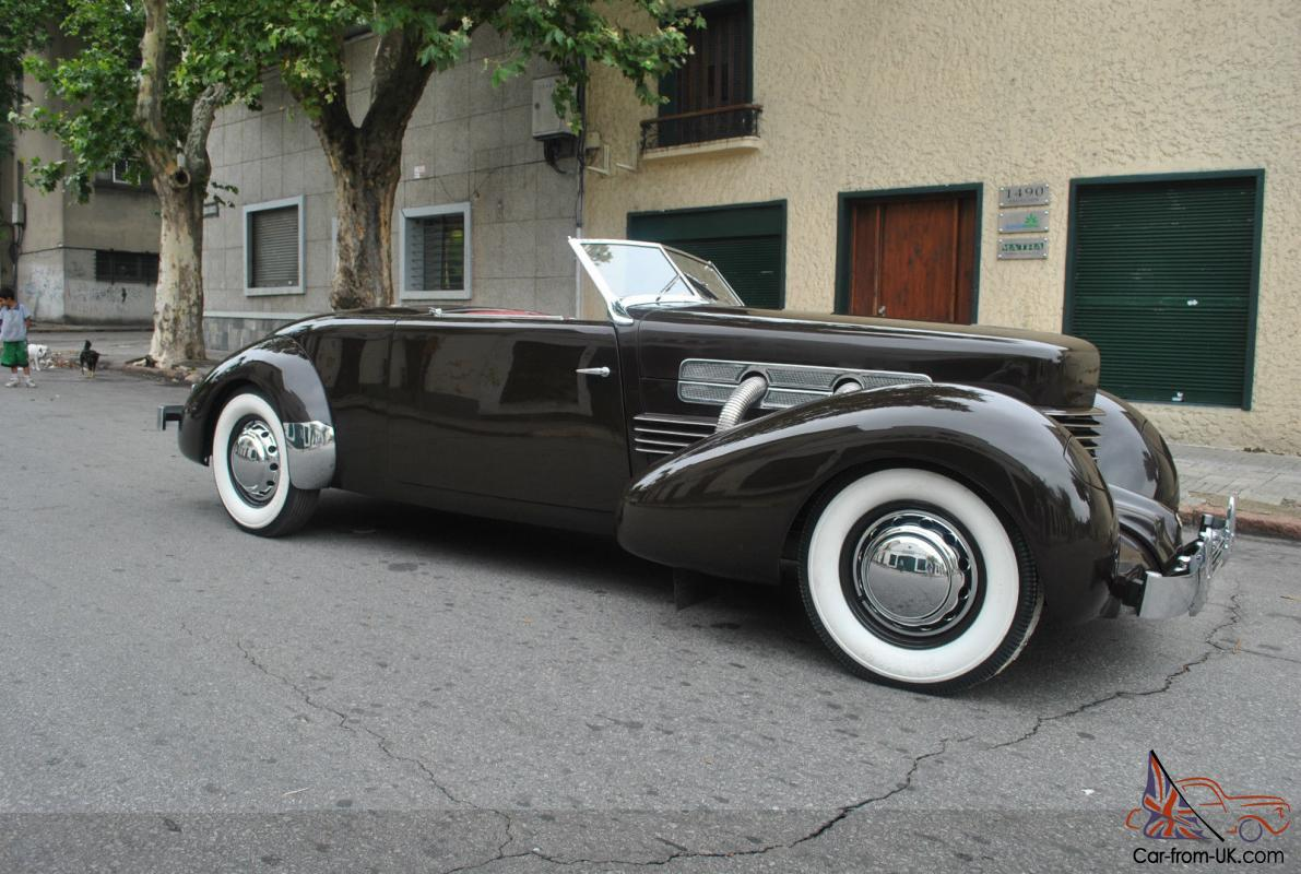 1937 cord 812 sc for Cord motor car for sale