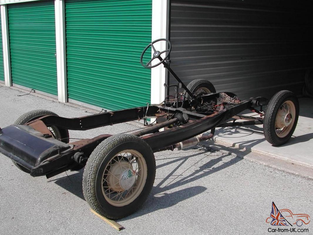 1932 Ford Original Rolling Chassis, excellent condition, low mileage ...