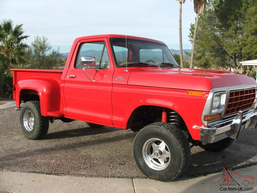 1979 F 150 Ford Stepside 4x4 Autos Weblog