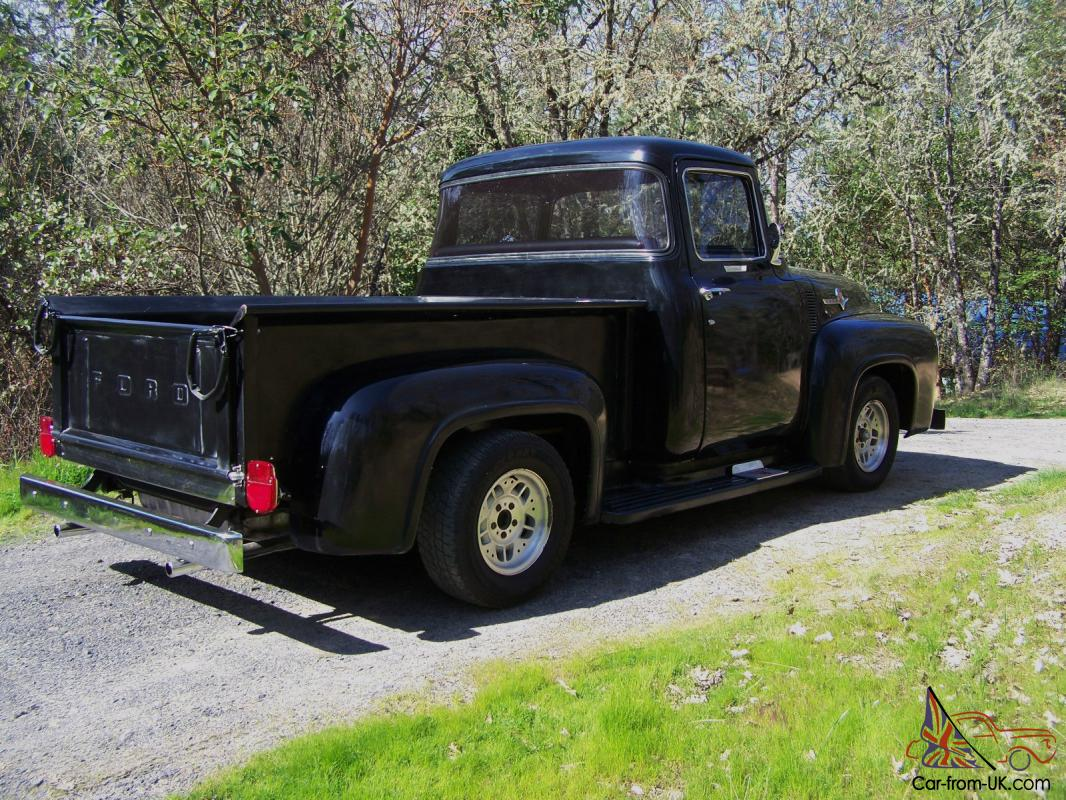 1956 ford f100 pickup truck big back window for 1956 ford big window