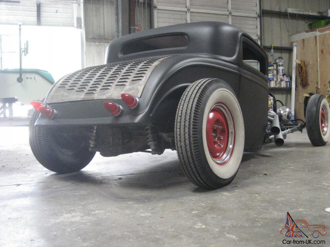1932 Ford 3 window winters quick change 348 rat rod 6 stromburg 97,s ...
