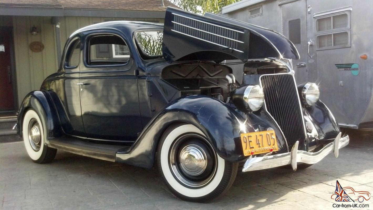1936 ford flathead original hot rod 5 window coupe 40 no for 32 ford 5 window coupe