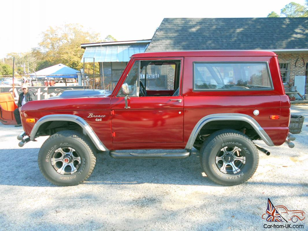Ford Bronco 1976 302 Engine Wow
