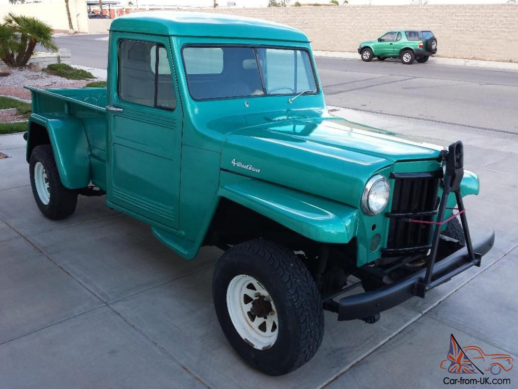 1949 jeep willys 4 wheel drive truck. Black Bedroom Furniture Sets. Home Design Ideas