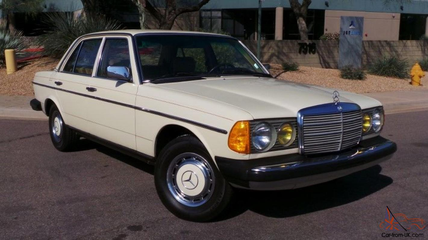Value of 1982 mercedes 240d for Mercedes benz 240 d