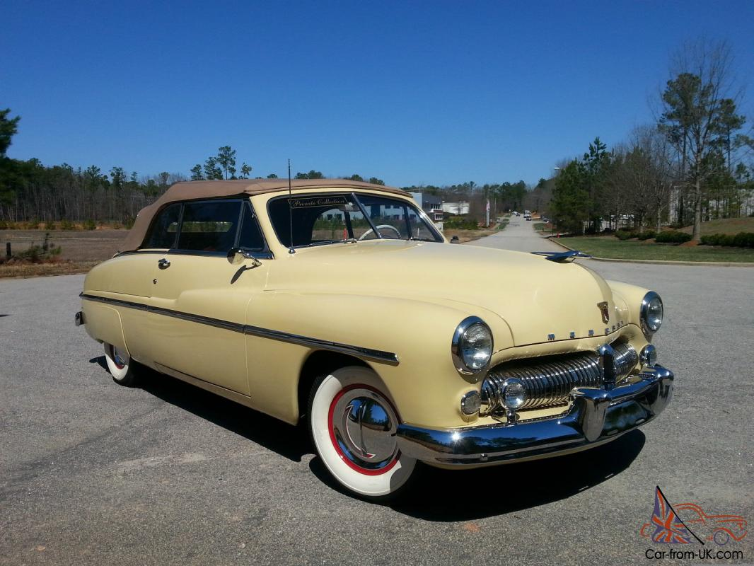 1949 Mercury 8 Convertible Rare Factory Overdrive From Museum Show Quality Look Photo